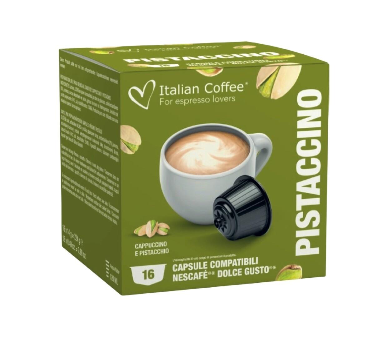 Italian Coffee™️Dolce Gusto Pistachino Cappuccino/latte
