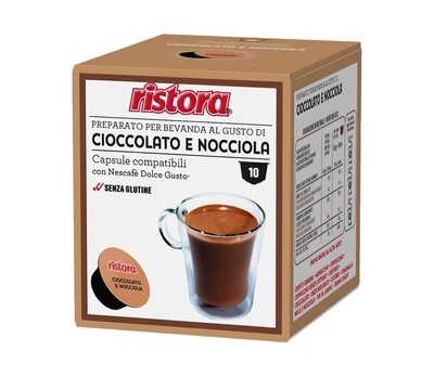 Ristora comp.DolceGusto* Hot Chocolate Топло Чоко NUTELA вкус х10капсули