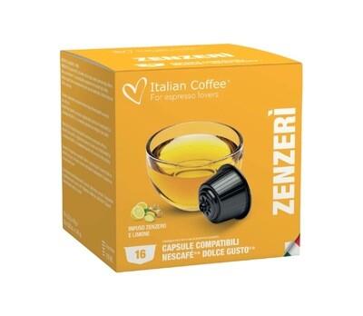 Italian Coffee™️comp.Dolce Gusto* Lemon-Zenzero Лимон-Џинџер х16