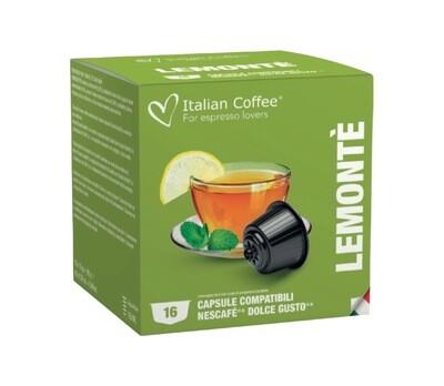 Italian Coffee™️comp.Dolce Gusto* Lemon Tea Чај х16капсули