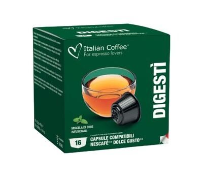 Italian Coffee™️comp.Dolce Gusto*Digesti Чај (микс на билки) х16капсули