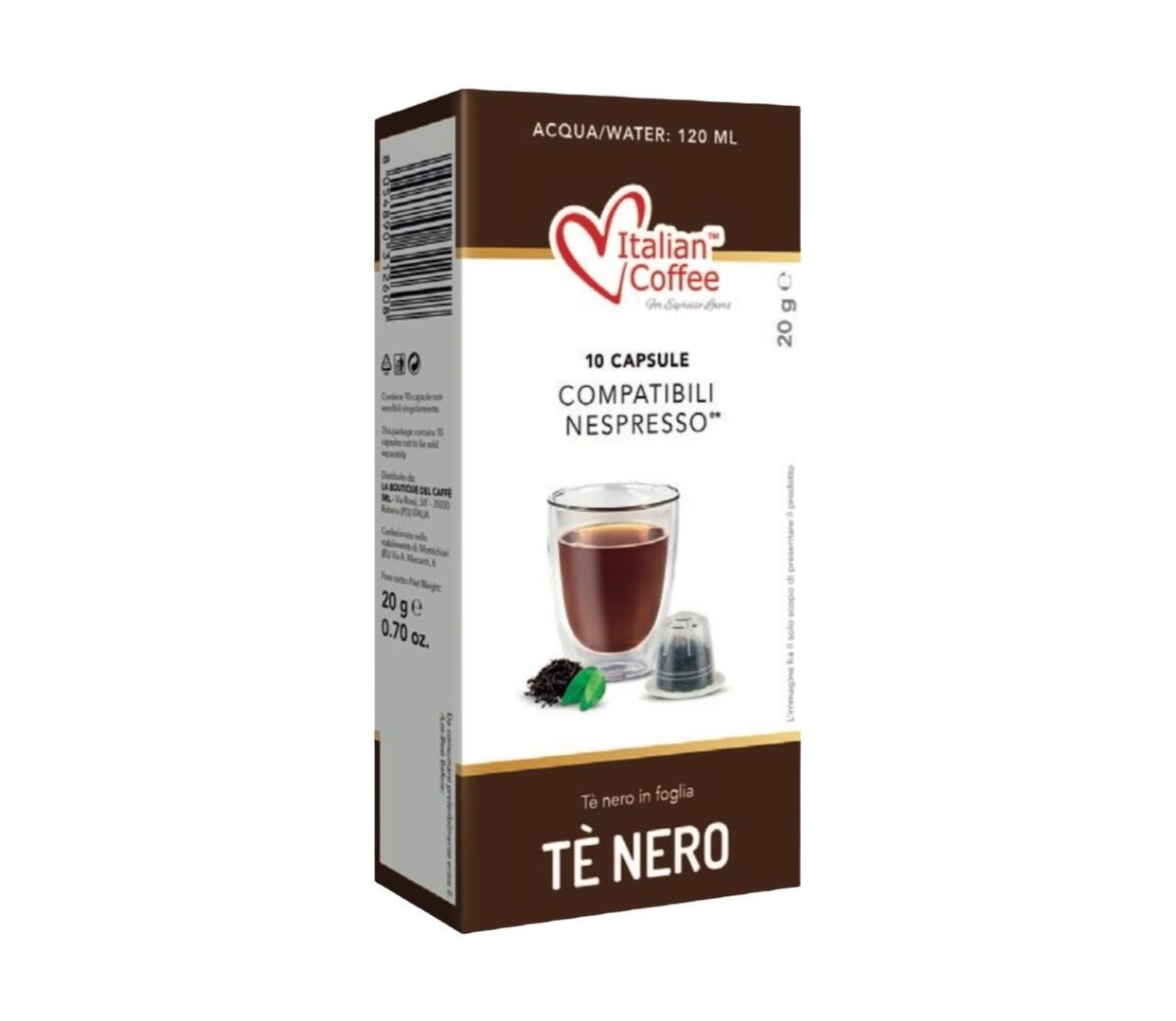 Italian Coffee™️comp. Nespresso Tè Nero Црн Чај х10капсули