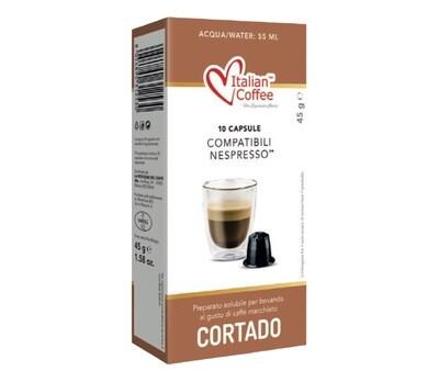 Italian Coffee™️comp. Nespresso*Cortado Machiatto Макијaто х10капсули