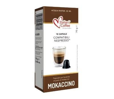 Italian Coffee™️comp. Nespresso* Mokaccino Чоко Макијато х10капсули