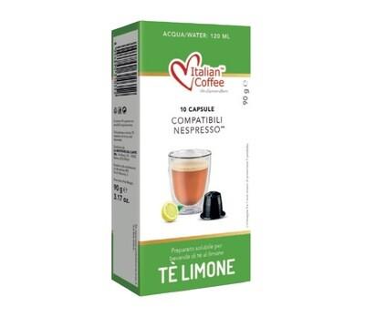 Italian Coffee™️comp. Nespresso* Tè Lemone Лимон Чај х10капсули