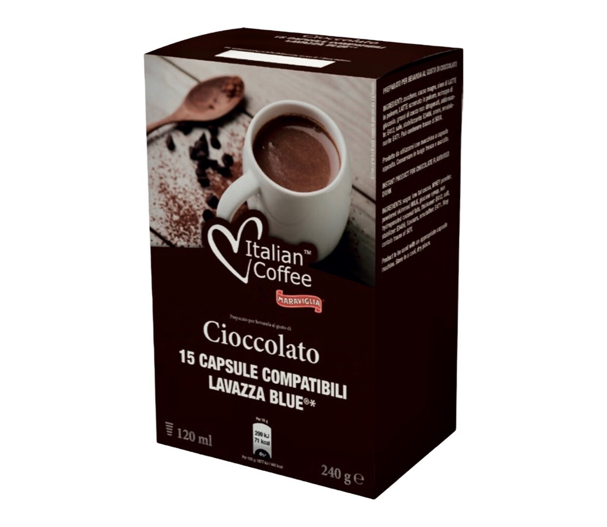 Italian Coffee*comp.Lavazza Blue Hot Chocolate x15 капсули