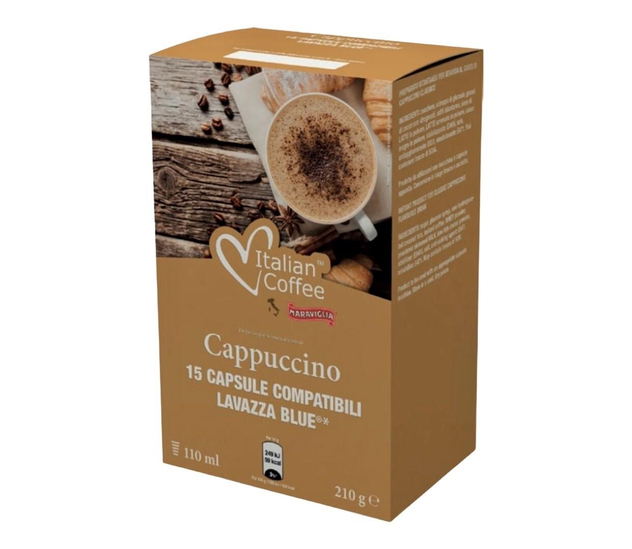 Italian Coffee*comp.Lavazza Blue Cappuccino x15 капсули