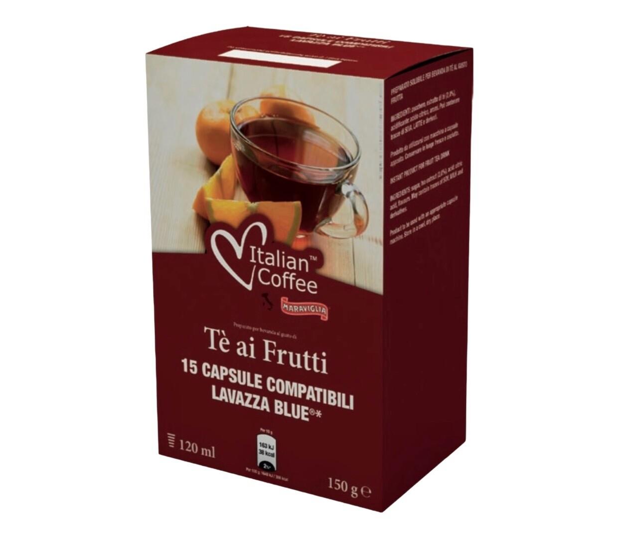 Italian Coffee*comp.Lavazza Blue Forest Fruit Шумски Чај x15 капсули