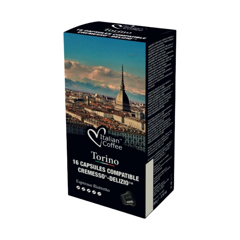 Italian Coffee™️NOA Torino 100%Robusta espresso x16 капсули