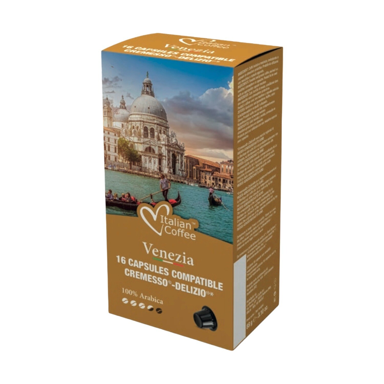 Italian Coffee™️NOA Venezia  100% Arabica espresso x16 капсули