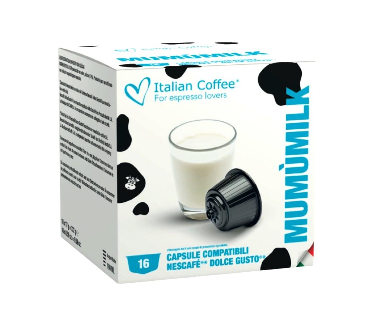 ItalianCoffee™️ Dolce Gusto MumuMilk Млеко  x16 капсули