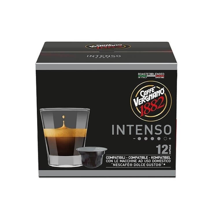 Vergnano 1882 Dolce Gusto Intenso x12 капсули