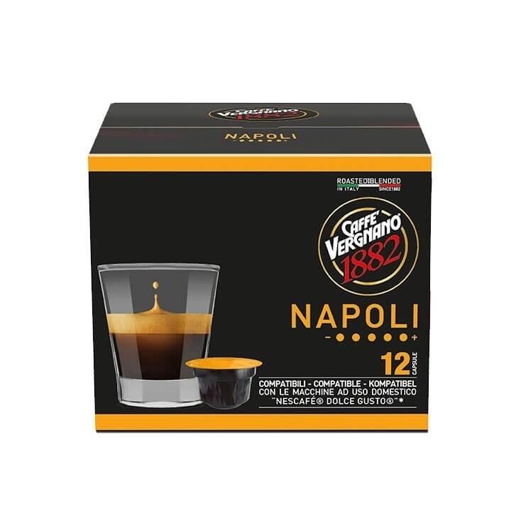 Vergnano 1882 Dolce Gusto Napoli x12 капсули