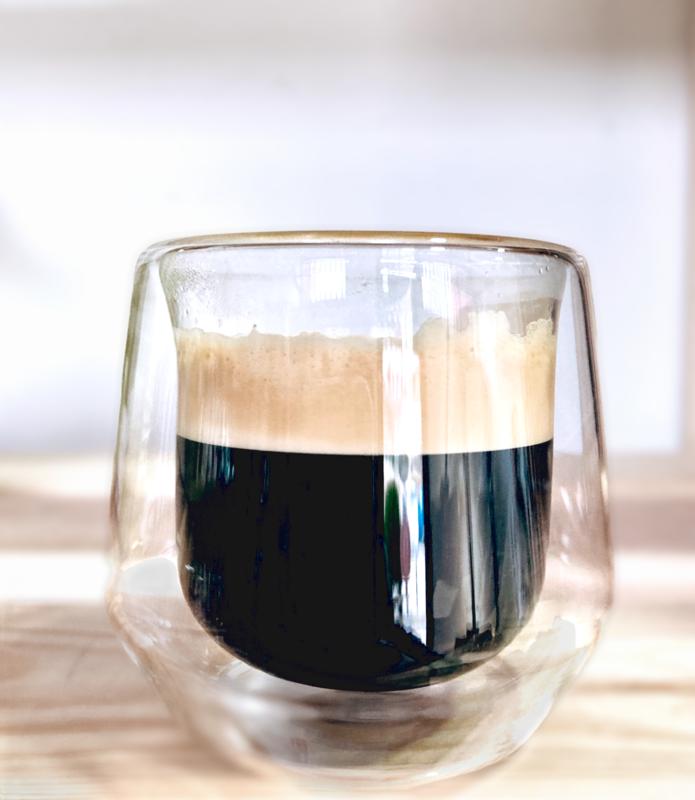 Blue Nåmad Double Wall espresso cup 80ml  x2 чаши