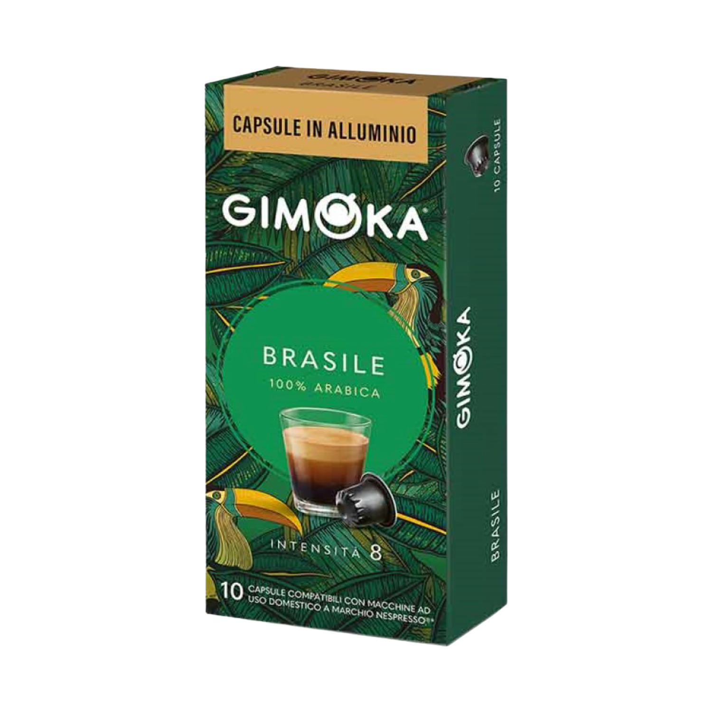 Gimoka Nespresso Alu Prime collection BRASILE x10