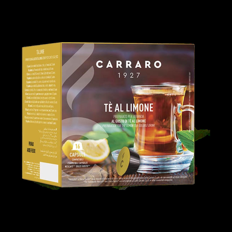 Carraro Dolce Gusto*  Чај Лимон 16 парчиња