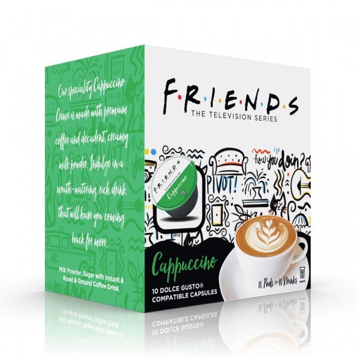 Friends by Warner Bros™️ for Dolce Gusto- Cappuccino x10 капсули