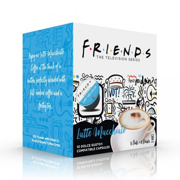 Friends by Warner Bros™️ for Dolce Gusto- Latte Machiatto x10 капсули