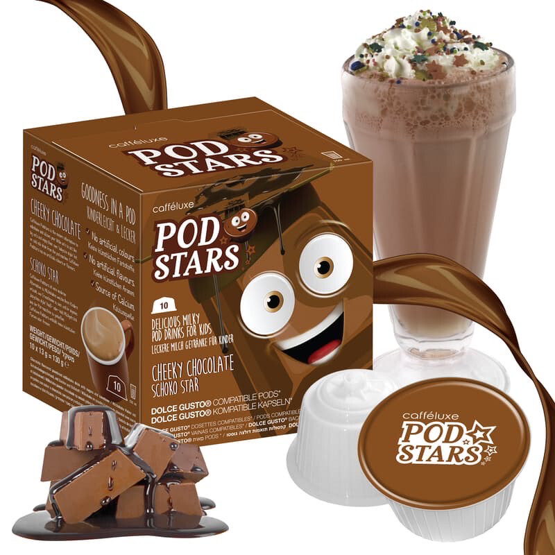Podstar by Mars for Dolce Gusto Cheeky Chocolate Milk Shake x10 капсули
