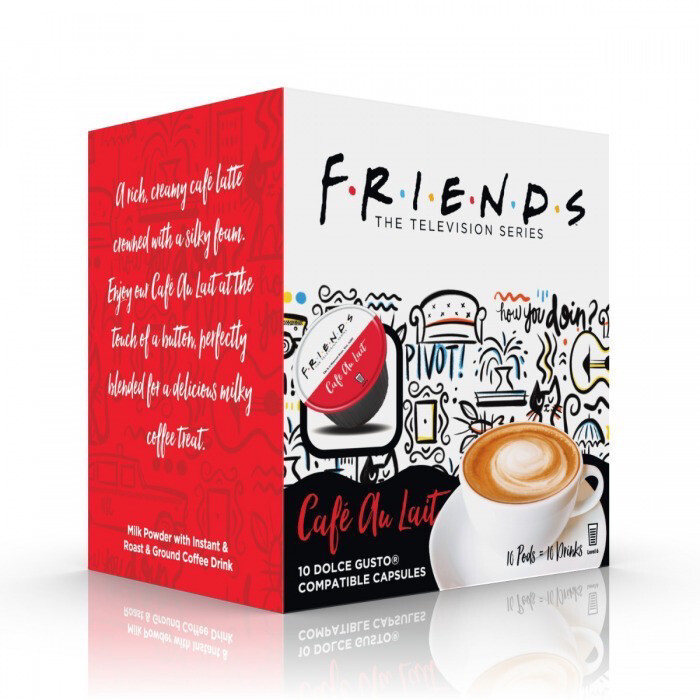 Friends by Warner Bros™️ for Dolce Gusto- Cafe Au Lait x10 капсули