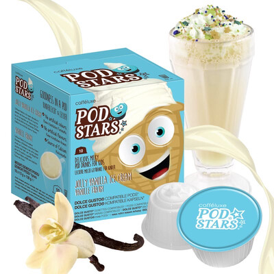 Podstar by Mars for Dolce Gusto Jolly Vanilla Ice Cream Milk Shake  x10 капсули