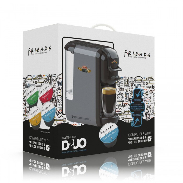 Original FRIENDS by Warner Bros™️ Duo  2 во 1 кафемат Nespresso+Dolce Gusto