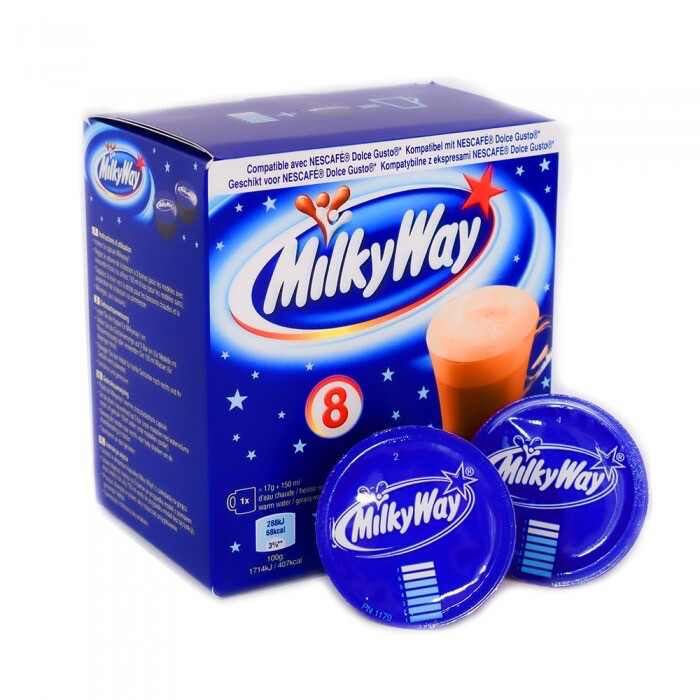 Milky Way by Mars™️for Dolce Gusto hot chocolate x8 капсули