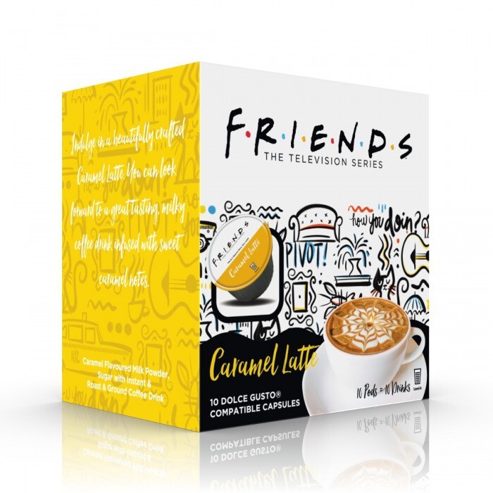Friends by Warner Bros™️ for Dolce Gusto- Caramel Latte x10 капсули