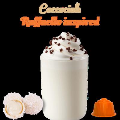 Italian Coffee™️Cococciok RAFFAELLO inspired Топло бело чоколадо х16