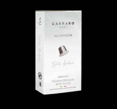 Carraro Nespresso DOLCI ARABICA – 10 капсули ALUMINIUM