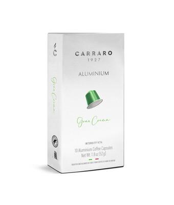 Carraro Nespresso Gran Crema Aluminum x10 капсули