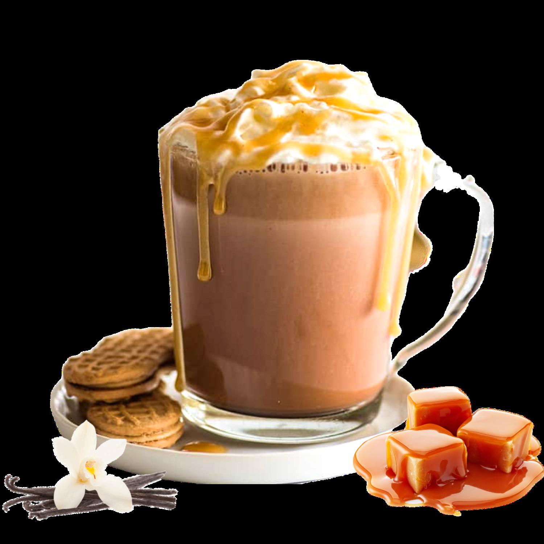 Italian Coffee™️ ChokoMou Hot Choco Чоколадо со карамела и ванила х16