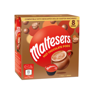 Maltesers by Mars™️ Dolce Gusto Hot Chocolate x8 капсули