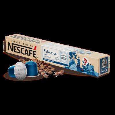 Original Nespresso by Nescafe 3 Americas x10 капсули