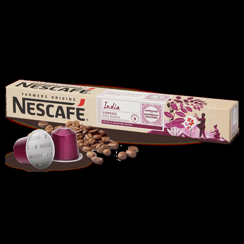 Original Nespresso by Nescafe India Arabica x10 капсули