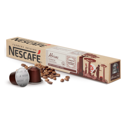 Original Nespresso by Nescafe Africas x10 капсули