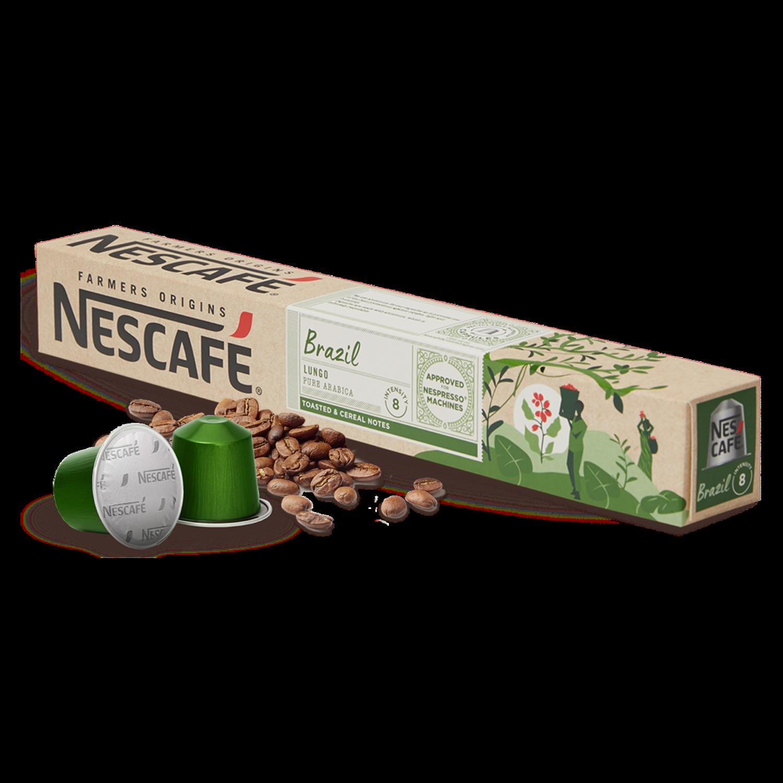 Original Nespresso by Nescafe Brasile x10 капсули