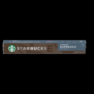 Starbucks by Nespresso espresso roast x10 капсули