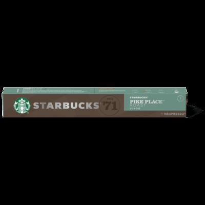 Starbucks by Nespresso Pike Place x10 капсули