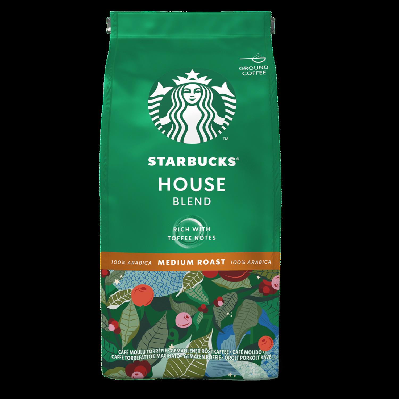 Starbucks House Blend мелено еспресо 200 гр