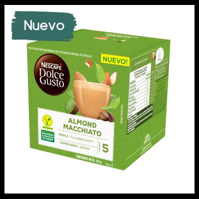 Nescafe Dolce Gusto Almond Milk Macchiatto x12 капсули