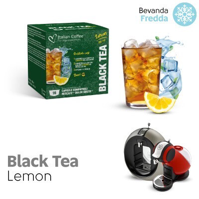 Italian Coffee Dolce Gusto Black Iced Tea Lemon x16 капсули
