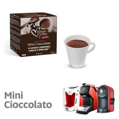 Italian Coffee™️ Modo Mio Hot Chocolate x12 капсули