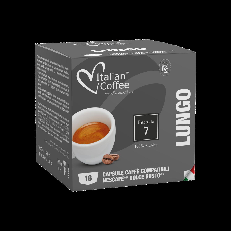 Italian Coffee Dolce Gusto Lungo 16 капсули