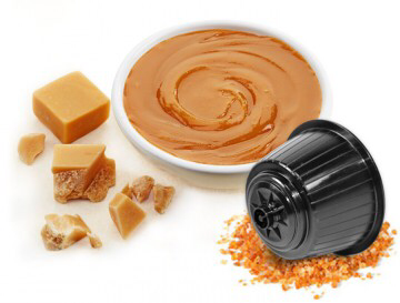 Bonini Dolce Gusto  Crème brûlée Latte Mou  карамел лате 25 капсули