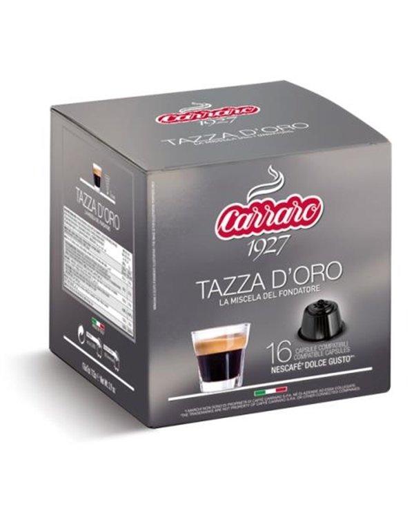 Carraro Dolce Gusto Tazza d'Oro 16 парчиња