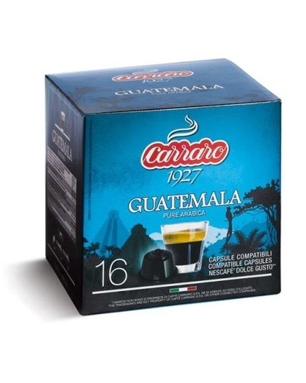 Carraro Dolce Gusto Specialty Guatemala 16 парчиња