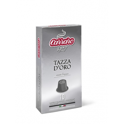 Carraro Nespresso Tazza D'Oro 10 пар.