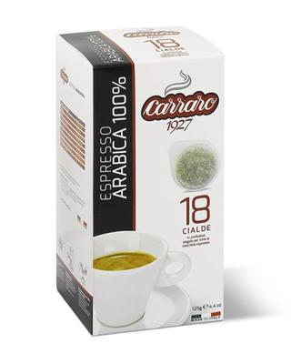Carraro 100% Arabica ESE хартиени патрони 18 пар.