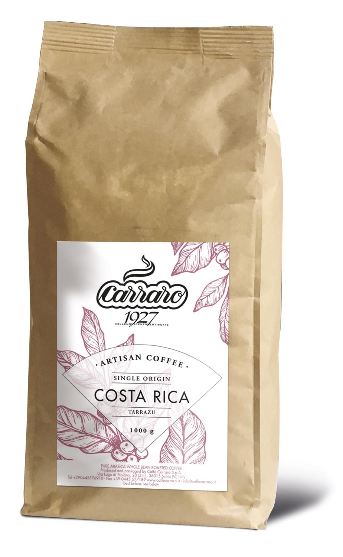 Carraro Costa Rica Specialty Artisan Arabica во зрно 1 кг